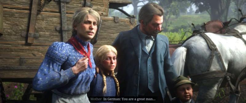 Поселенец объединяется с семьей