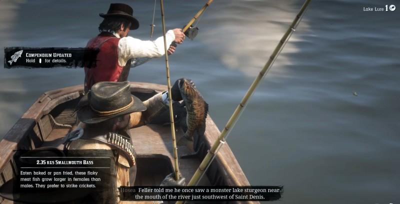 Рыбалка на воде