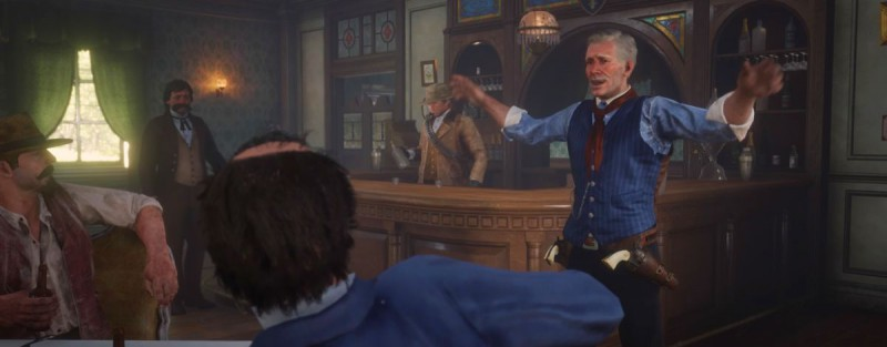 Заварушка в баре