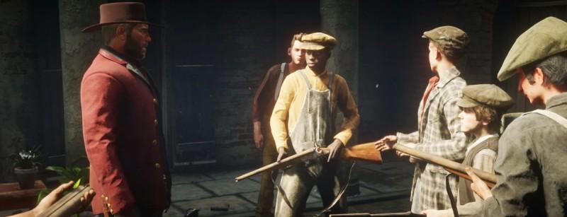 Уличные детки с оружием