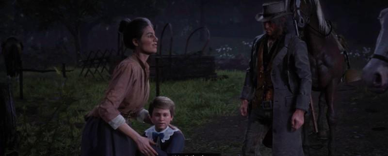 Эбигейл и ребенок