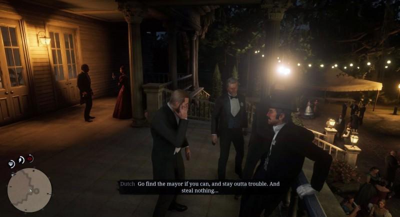 Беседа с гостями на балконе