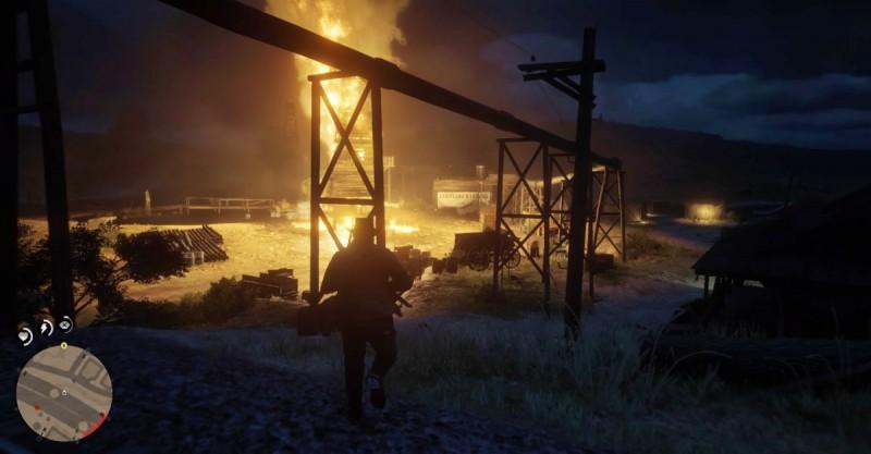 Взрыв на керосиновой фабрике