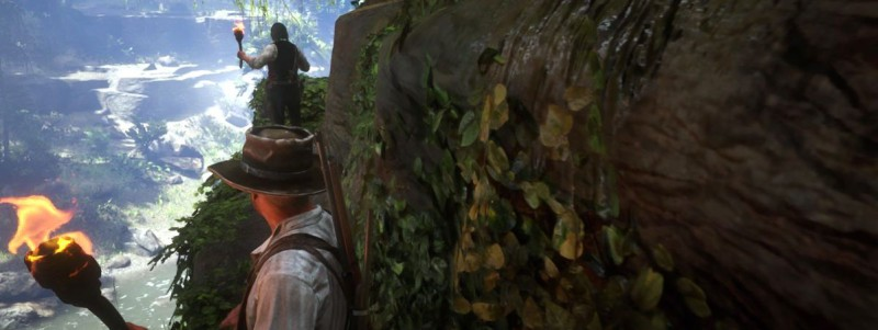 Вступаем в пещеру с Датчем