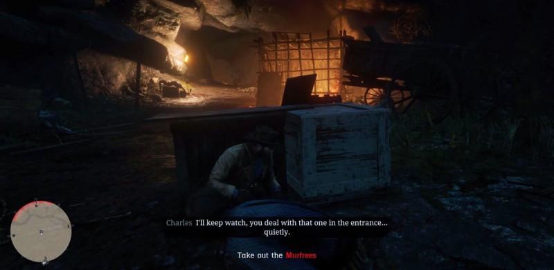 В пещере каннибалов