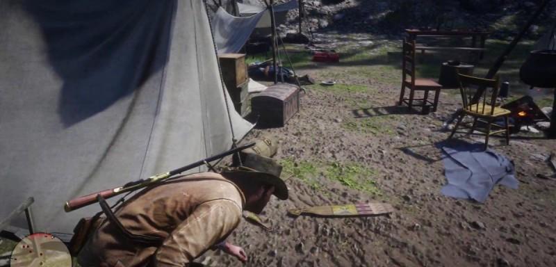Крадемся по лагерю