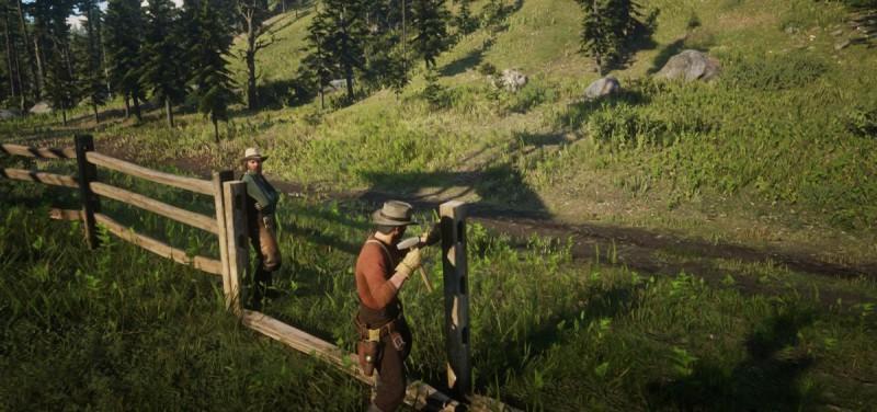 Делаем забор для ранчо