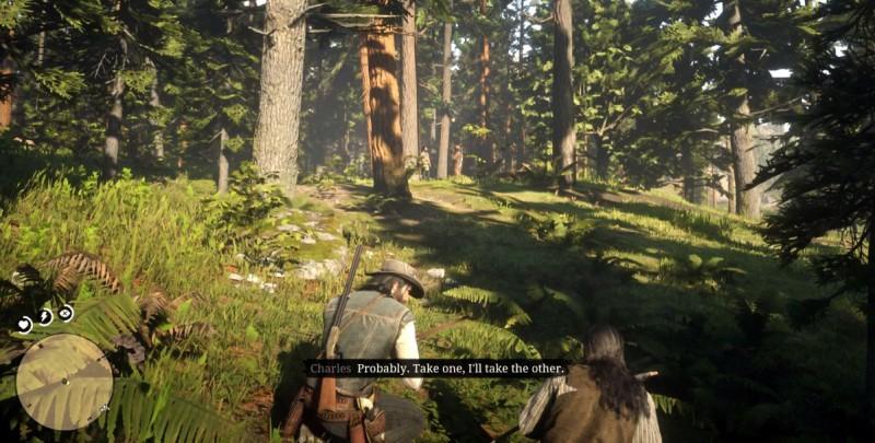 Пробираемся по лесу