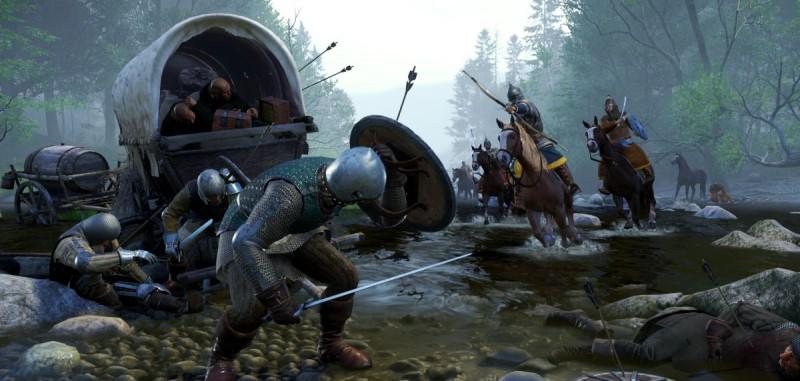Разбойники напали на обоз
