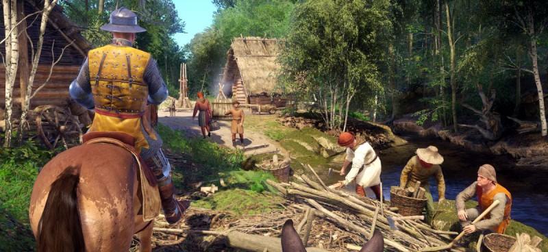 Тяжелый крестьянский труд
