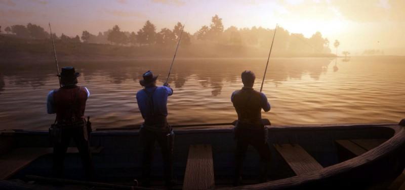 Ковбойская рыбалка