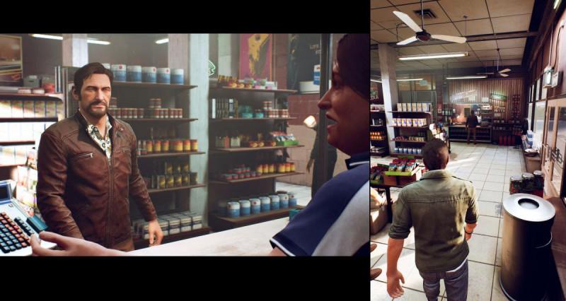 Зэки в супермаркете