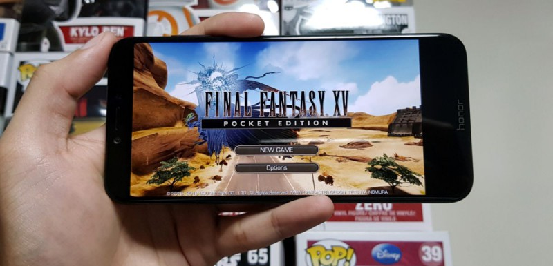 Final Fantasy 15 на Honor Play