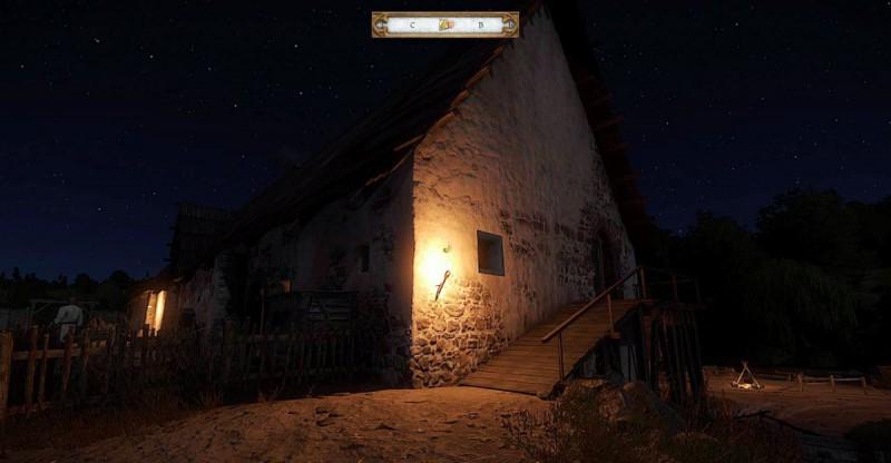 Ночью у монастыря