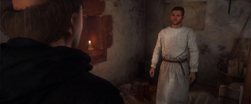 Переодеться в послушника монастыря