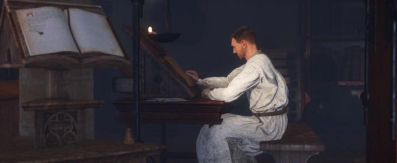 Переписываем книгу по заданию монастыря