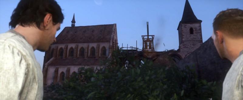 Покидаем монастырь