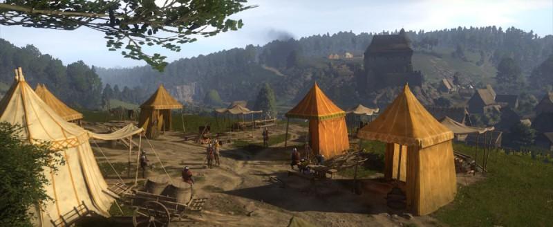 Лагерь готовится к осаде