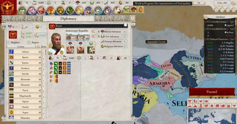 Дипломатия в игре
