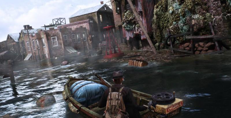 Город затоплен