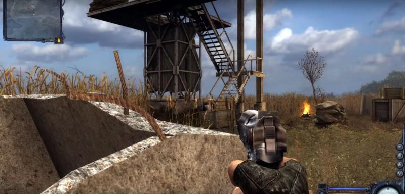 Атакуем бандитов у башни