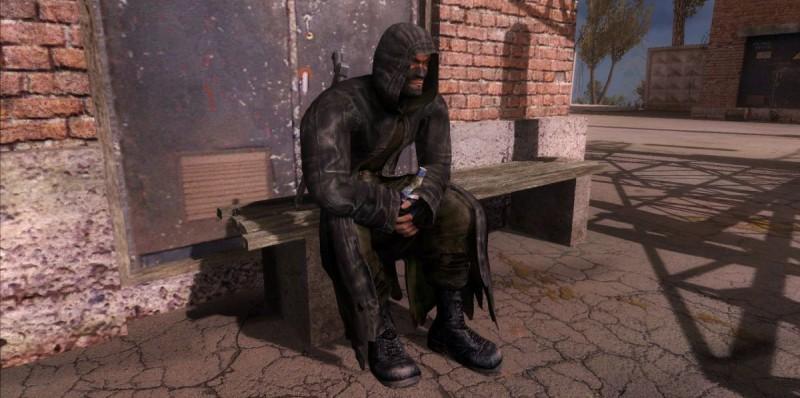 Бандит отдыхает с пивком