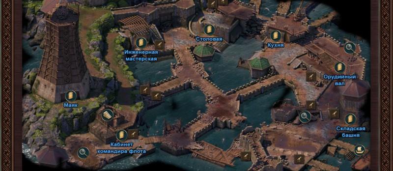 Остров Асонго - карта