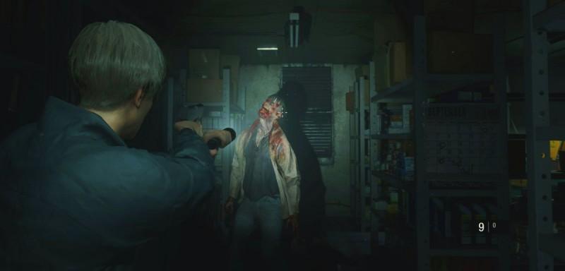 Первая встреча с зомби