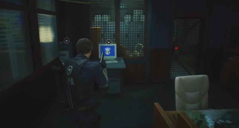 Кабинет с компьютером