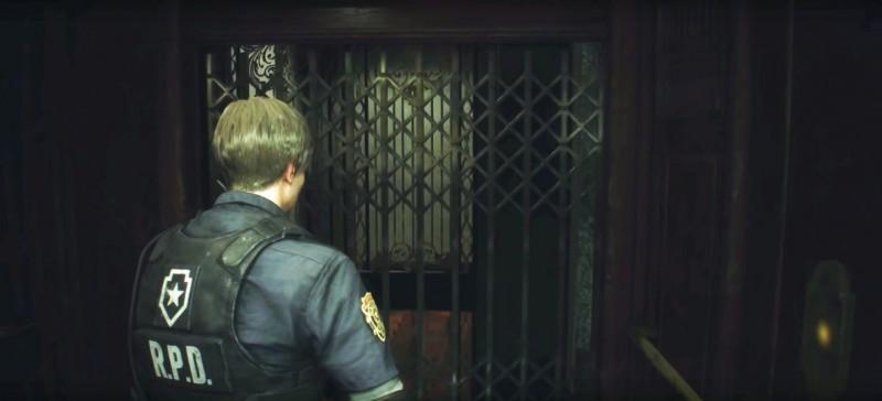 Спускаемся на лифте