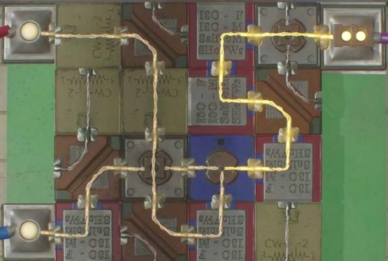 Схема электронного механизма