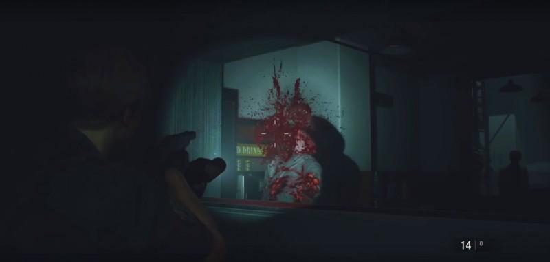 Хэдшот для зомби в столовой