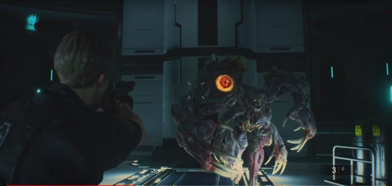 Стреляем мутанту по глазам