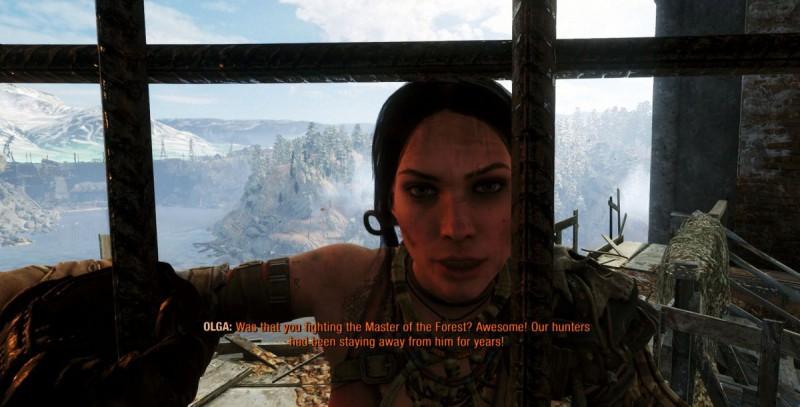 Ольга сообщает, что Алеша на дамбе