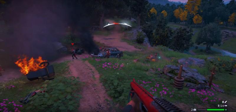 Атака рейдеров на базу