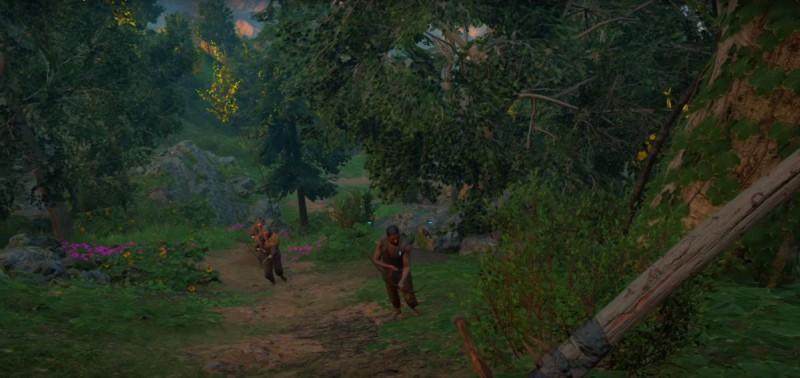 С лучниками против рейдеров