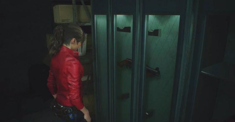 Гранатомет в шкафчике