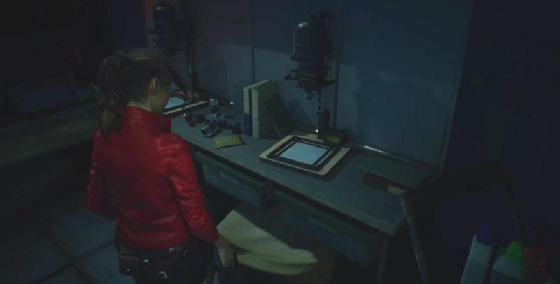 В фотолаборатории