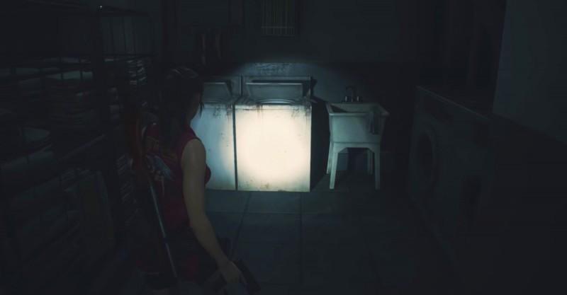 Клэр в прачечной