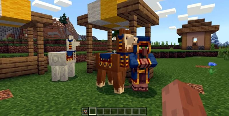 Торговец с ламами