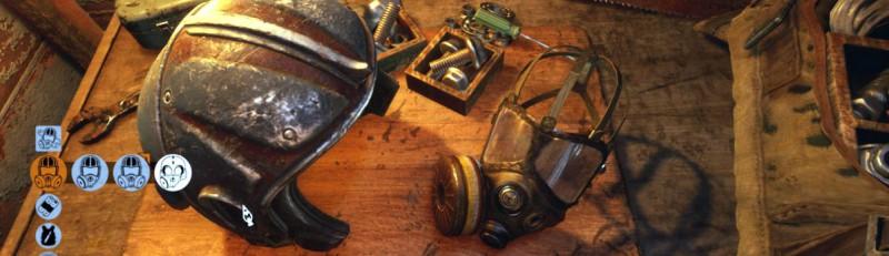 Укрепленный шлем