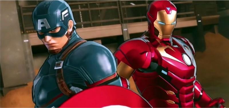Капитан Америка и Железный Человек