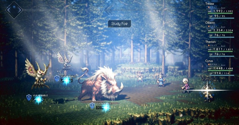 Скриншот игры Octopath Traveler