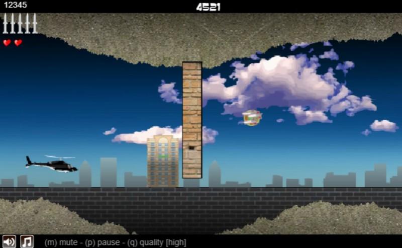 Скриншот игры Вертолетная зона