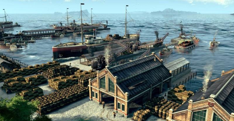 Ваш флот в Anno 1800