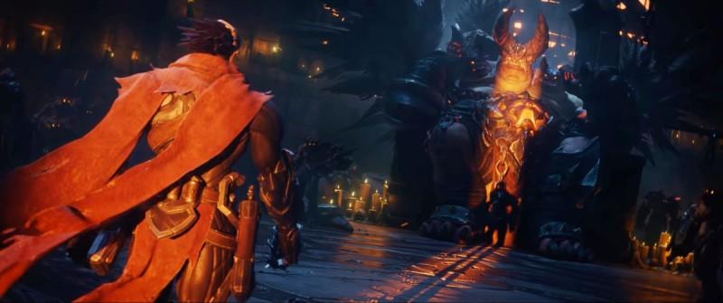 Скриншот из трейлера Darksiders Genesis