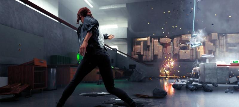Скриншот игры Control