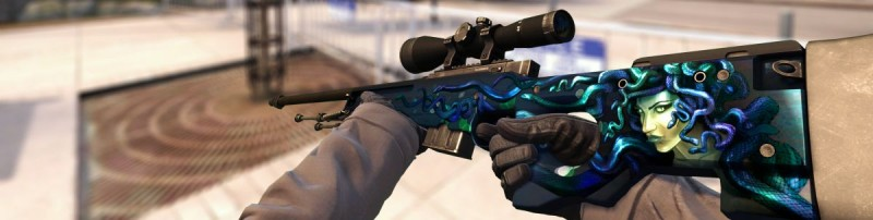 Снайперская винтовка AWP Медуза