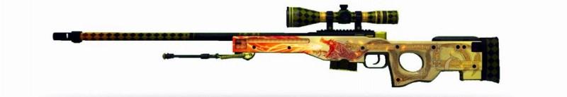 Снайперская винтовка AWP История дракона
