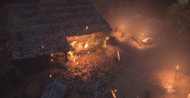 Загорелся дом Лаврентия